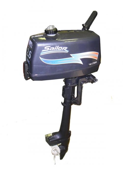 Подвесной лодочный мотор Sailor GM-T2.6. 2 года ГАРАНТИИ!