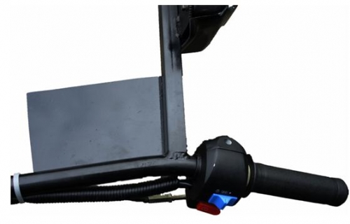 Крепление под навигатор для мотобуксировщиков Рекс