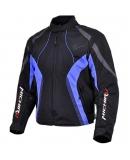 Куртка мотоциклетная Summer Metropolis черно-синяя