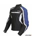 Куртка мотоциклетная Street Fighter черно-синяя