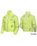 Куртка мотоциклетная Safety Jacket лимонная